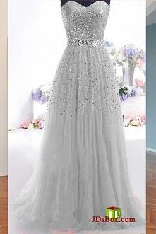 sparkly długa sukienka wieczorowa