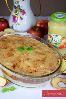 Zapiekany ryż z jabłkami + ...