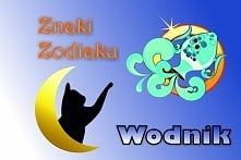 WODNIK – ZNAK ZODIAKU (20 stycznia – 18 lutego)  Hasło astrologiczne: MOGĘ, W...