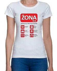 """Koszulka """"Żona S.A.&qu..."""