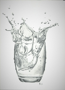 3D ?? dzisiejsza praca - nie wiedziałam, że tak trudno narysować wodę :/ chyb...