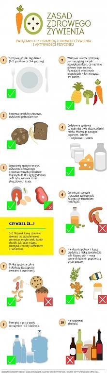 10 zasad zdrowego żywienia
