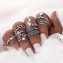 Piękny zestaw pierścionków!