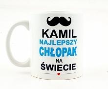 Kubek na dzień chłopaka z dowolnym imieniem, do zamówienia na nadruko.pl