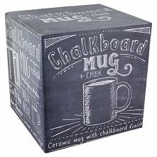 Kubek z powłoką do pisania Chalkboard mug