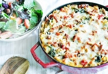 szarpane lasagne