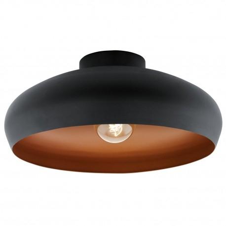 MOGANO 94547 EGLO Lampa sufitowa     Oprawa z serii VINTAGE. Wykonana z metalu. Oprawa doskonała do wnętrz w stylu minimalistycznym, vintage, industrialnym oraz wielu innych.