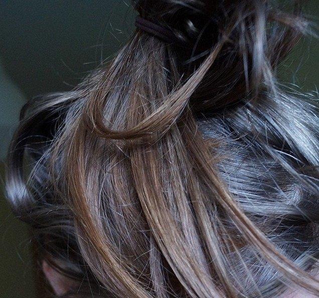 Pierwsze efekty stosowania oleju musztardowego na włosy :)