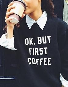 Która z Was nie wyobraża sobie dnia bez kawy?☕