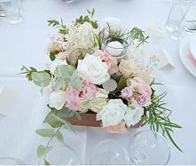 Bukiety na stoły weselne w ...