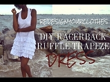 DIY Racerback Ruffle Trapeze Dress-(RYC) 25