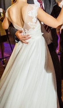 Sprzedam suknię ślubną zakupioną w salonie Afrodyta w Rzeszowie, model CASILD...