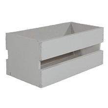 Drewniana skrzynka, kolor biały (BOX 23/11/10)