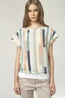 Bluzka kolorowa