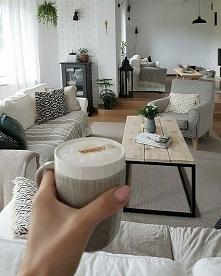 poranek w salonie