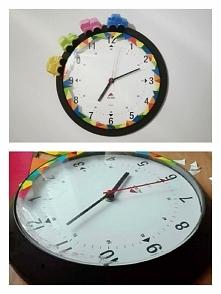 zegar z samochodzikami do p...