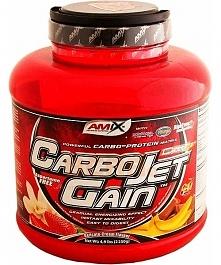 Carbojet Gain z mocnego sklepu to profesjonalny gainer białkowo-węglowodanowy...