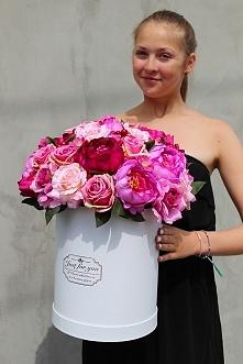 flower box - kwiaty sztuczne z pracowni tendom.pl