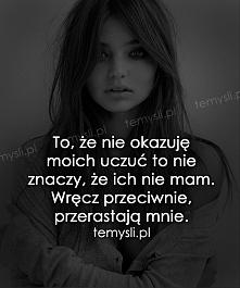 uczucia...