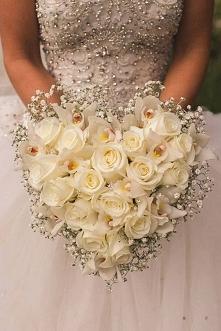 Przepiękny bukiet ślubny
