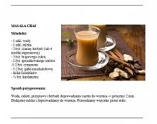 Masala Chai Próbowałam, smakuje trochę jak kakałko. (łyż. - oznacza małą łyżeczkę) Do serialu tureckiego idealne, albo do filmu bollywoodzkiego. Ja dałam 2 woreczki herbaty i wy...