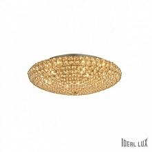 KING PL9 53,5cm IDEAL LUX lampa sufitowa, ścienna 73262 złota    Seria Ideal Lux King to wysokiej jakości, ekskluzywne lampy występujące w kolorze srebrnym oraz złotym. Dzięki w...