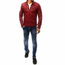 Czy znajdzie sie jakiś mężczyzna, który założyłby taką kurtkę w kolorze czerw...