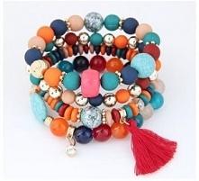 Zestaw kolorowych bransoletek za 14,80 zł. Kliknij w zdjęcie, aby przejść do ...