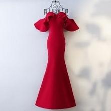 Sexy Red Evening Dresses 2017 Trumpet / Mermaid Sweetheart Strapless Zipper U...