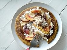 Przepis na pyszny omlet dyniowy <3 Bez cukru!