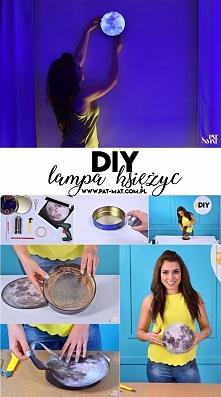 DIY Moon Lamp - designerska lampa księżyc już na blogu!