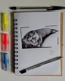 Wydra, długopis :) (ig/zmrusialek fb/zuzarysowana)