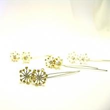 inna biżuteria/inne obrączki. Stylowe modne Złote kolczyki od Mokume.com.pl / prosto od projektanta