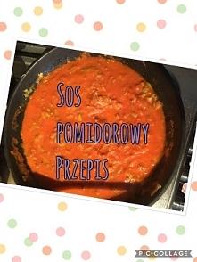 Najlepszy przepis na zdrowy sos pomidorowy !!! Przepis po kliknieciu w obrazek.