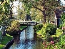 #river #rzeka #bridge #most #natura #holandia #nederland