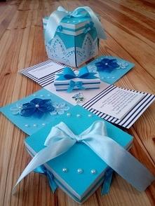 Wtykonam na zamówienie pudełko na ślub, Polecam;) e-mail: milena.szubinska@o2.pl