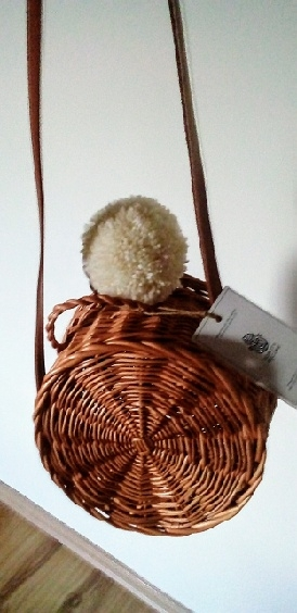 Wiklinowa koszyk/torebka od robotyreczne. Ladybag Wicker Basket no. 3 by Robotyręczne <3
