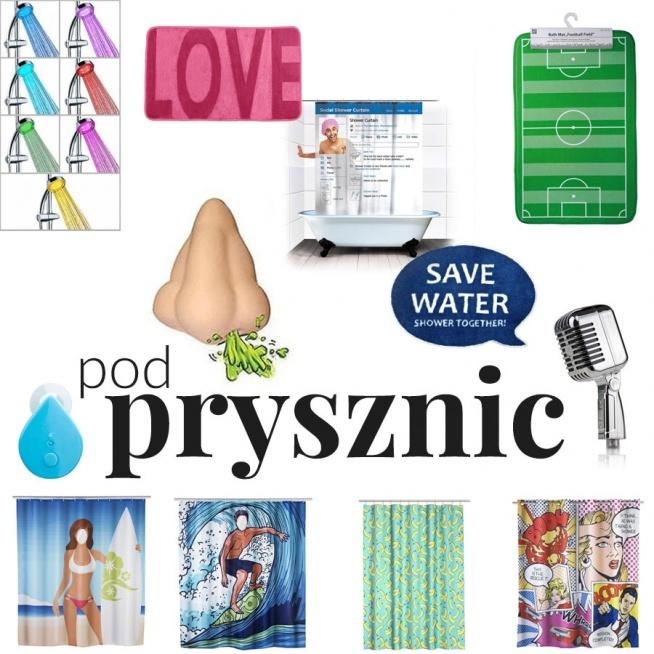 """""""Wesołe i kolorowe dodatki do łazienki"""" - wpis z inspiracjami i produktami na blogu Mocem - akcesoria pod prysznic"""