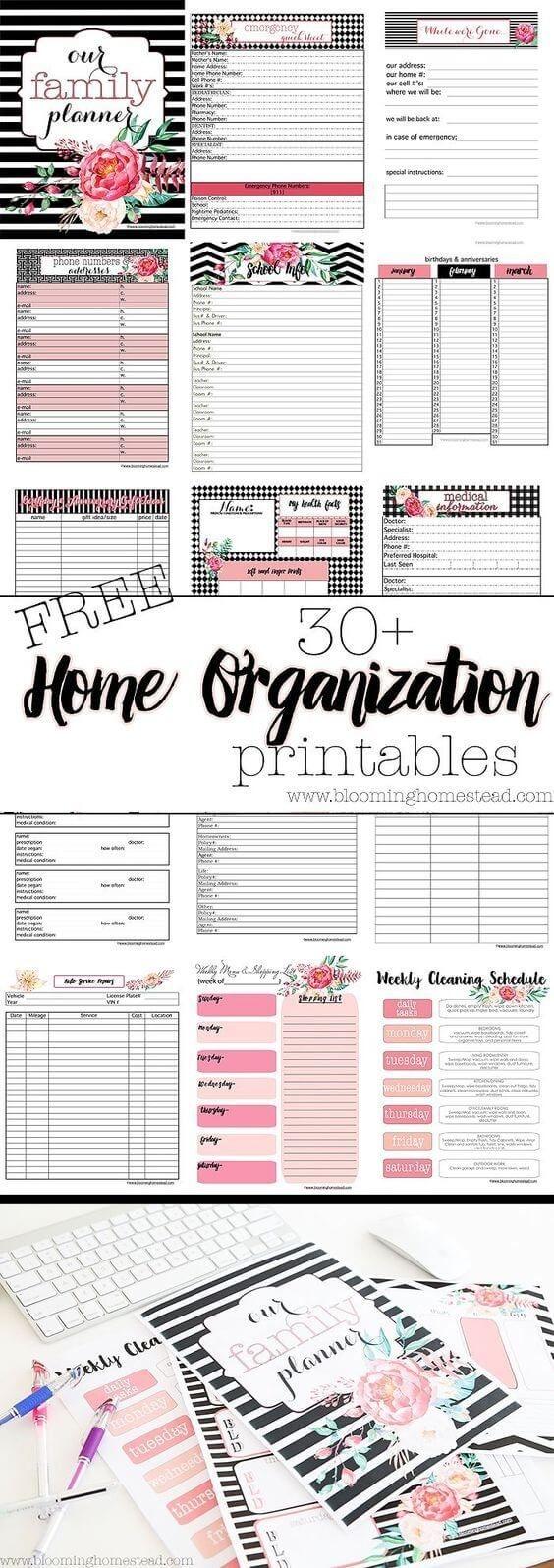 Home organization :)