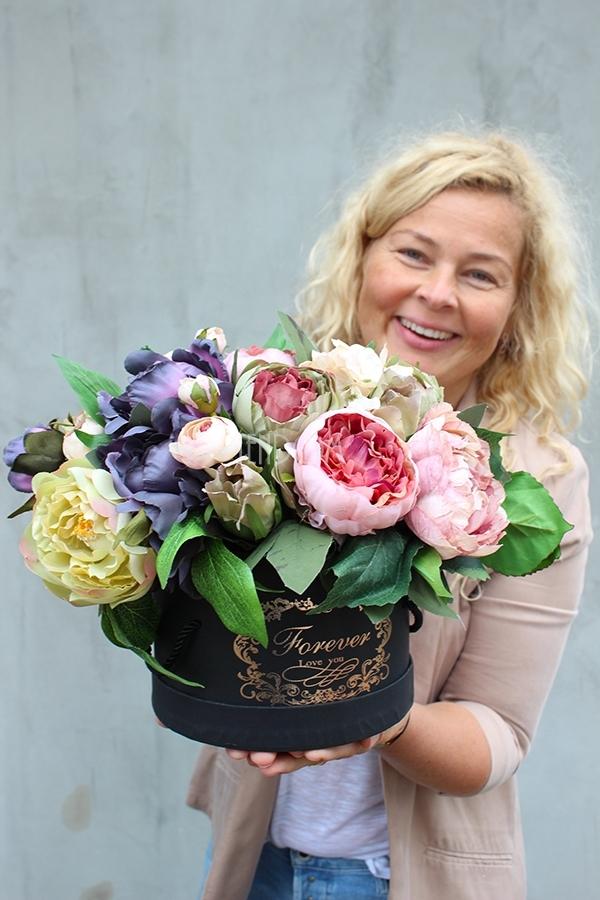 barwny flower box z pracowni tendom.pl