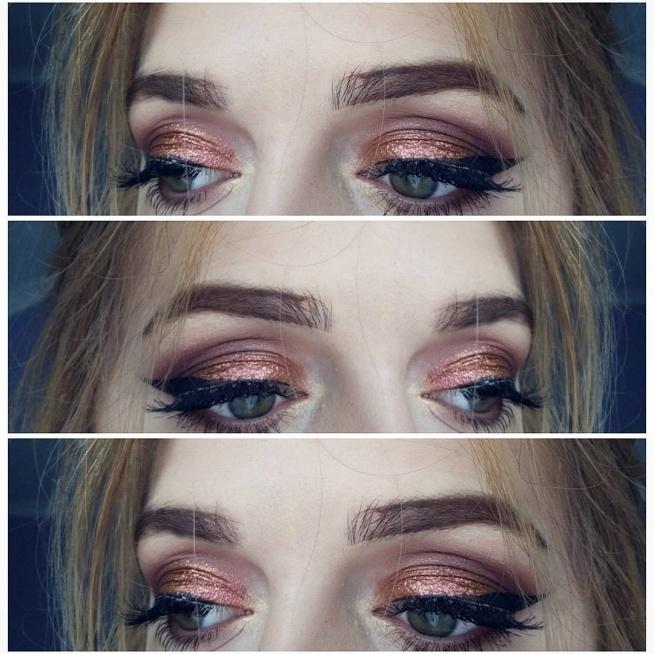 copper makeup <3  zapraszam po więcej: instagram/by__nataliya