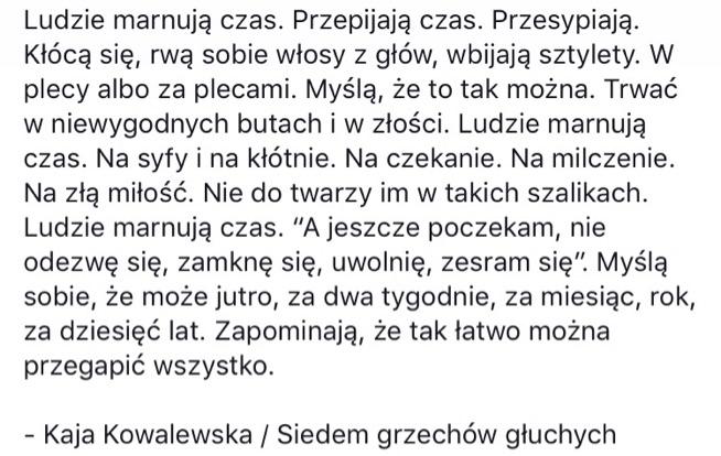 Kaja Kowalewska - ukłon w Pani stronę!