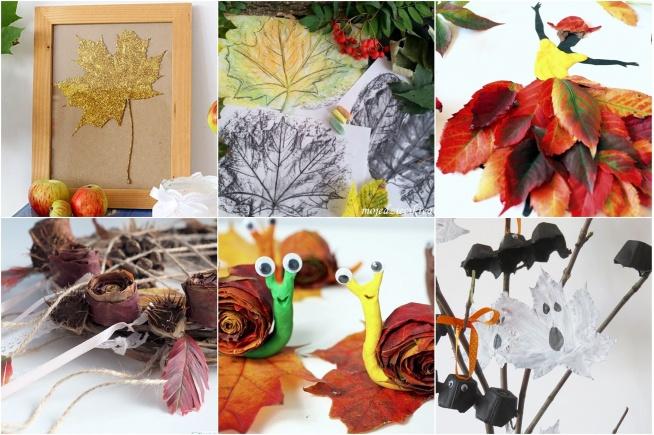 9 pomysłów DIY z jesiennych liści, które zrobisz z dziećmi! - Twoje DIY