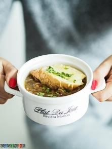 Przepis na zupę cebulową z grzanką, zapraszam na przepis :)