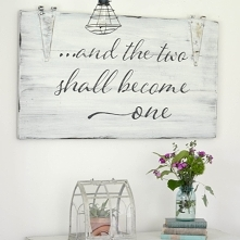 and the two shall become one ♥