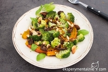 Sałatka z dyni i brokułów -...