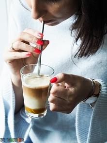 Latte z dyniowym syropem - pumpkin spicy latte :)
