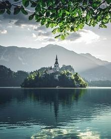Jezioro Bled w Słowenii.