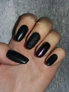 # black nails