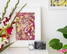 Marmurkowe obrazki DIY - zo...